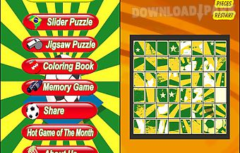 Football puzzle - soccer world c..