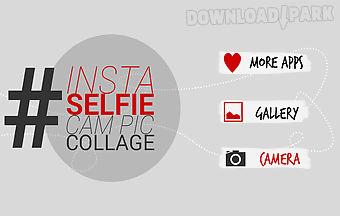 Insta selfie cam pic collage