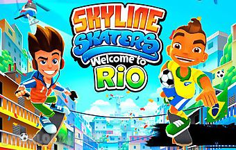 Skyline skaters: welcome to rio