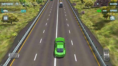 turbo racing 3d: nitro traffic car