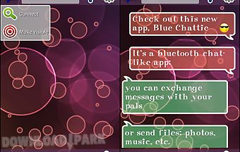 Blue chattie