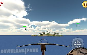Crossbow water shooter 3d