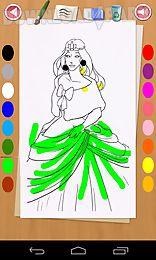 cute princess coloring