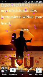 Love At Sunset Romantic Live Wallpaper Android Live Wallpaper Free