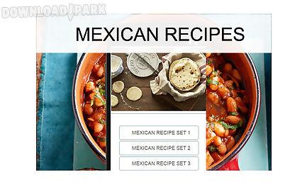 mexican recipes food