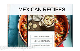 Mexican recipes food