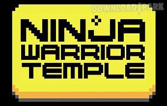 Ninja warrior: temple