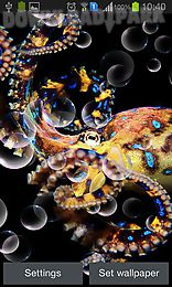 Octopus Android Live Wallpaper free download in Apk