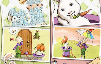 Robert rabbit and a rainbow