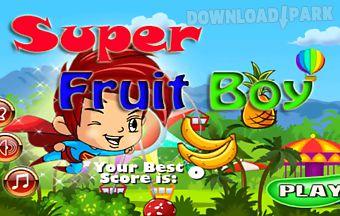 Super fruit boy