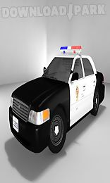traffic police car race