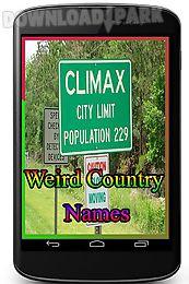 weird country names