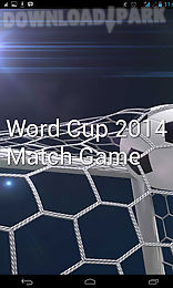 world cup 2014 match game