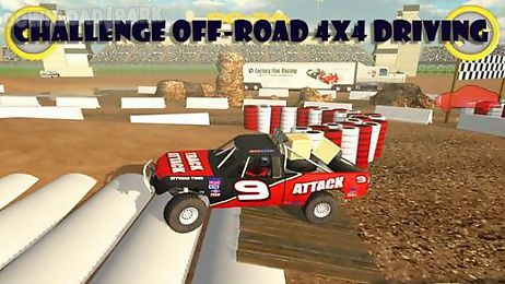 challenge off-road 4x4 driving