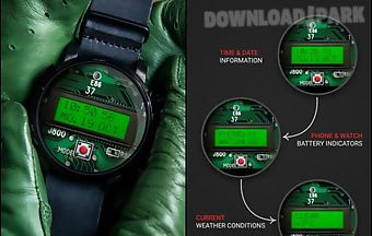 Lcd watch face - interactive opt..