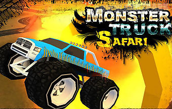 Monster truck: safari adventure