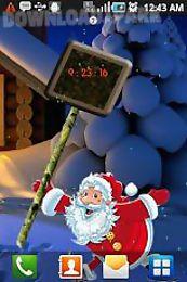 santa new years live wallpaper