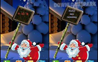 Santa new years live wallpaper