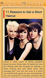 Superb Short Hairstyle Android App Free Download In Apk Short Hairstyles Gunalazisus