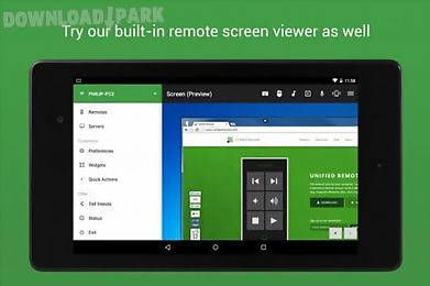 unified remote full optional