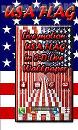 usa flag 3d live wallpaper