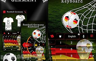 Football germany keyboard