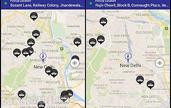 Mega cabs - radio taxi india