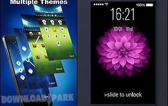 Os8 - phone6 plus screen lock