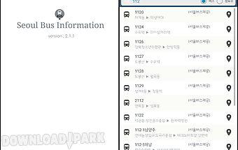 Seoulbus - seoul, bus stop