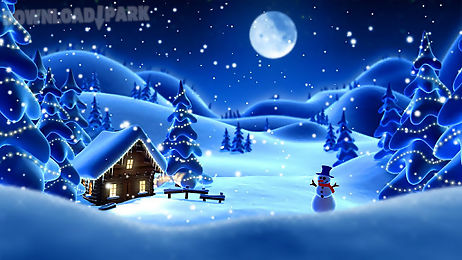 winter snow live wallpaper lwp android animiert. Black Bedroom Furniture Sets. Home Design Ideas