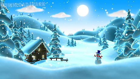winter snow live wallpaper lwp