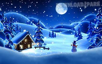 Winter snow live wallpaper lwp