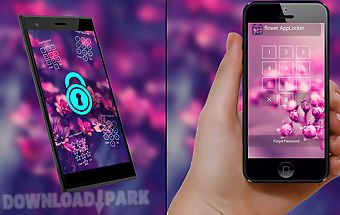 Applock theme - flower