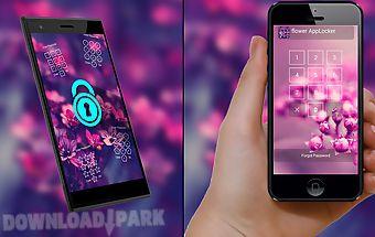 Applock theme - flower