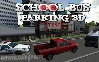 City school bus parking game