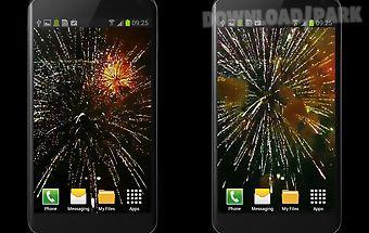 Fireworks video wallpaper free
