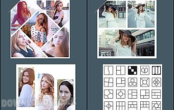 Foto collage maker photo grid