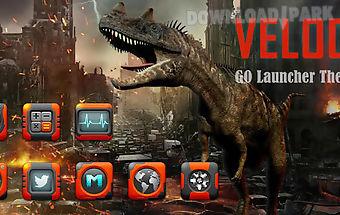 Veloci go launcher theme