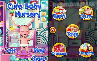 Baby care nursery fun game