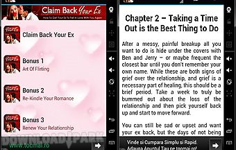 Claim back your ex now