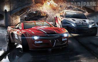 Fast car racing game