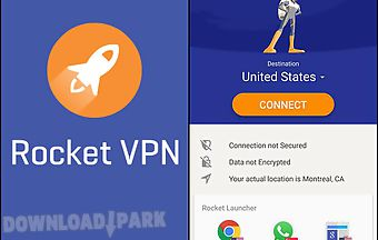 Rocket vpn: internet freedom