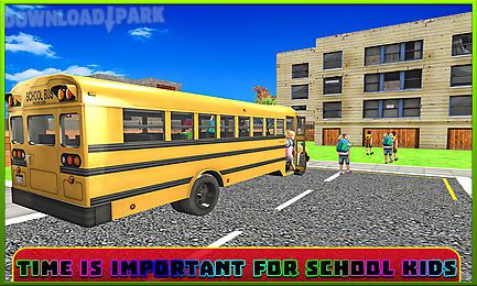 school bus driver simulator 3d