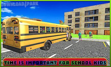 school bus driver simulator 3d
