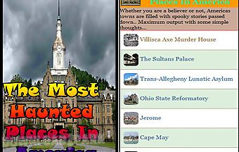 The most haunted places in ameri..