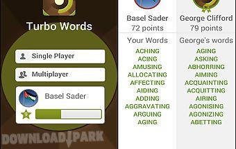 Turbo words