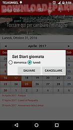 italia calendario 2017