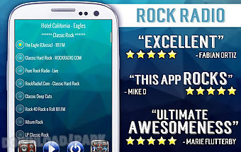 Rock radio - free music player