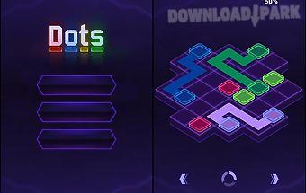 Flow dots: cyber lines 3d