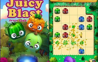 Juicy blast: fruit saga